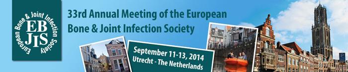 Tecres примет участие в ежегодном заседании European Bone & Joint Infection Societyn - EBJIS 2014 в Утрехте (Голландия)