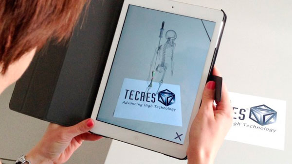 New Augmented Reality App for Tecres