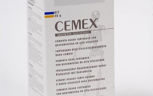 Костный цемент Cemex Genta